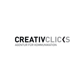 Text-in-Form: Referenzen: CreativClicks